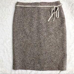 J. Crew Pencil Tweed Skirt